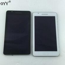 LCD ekran paneli ekran monitör dokunmatik ekran Digitizer cam meclisi ASUS Fonepad 7 için FE171MG FE171CG FE171 K01F K01N siyah