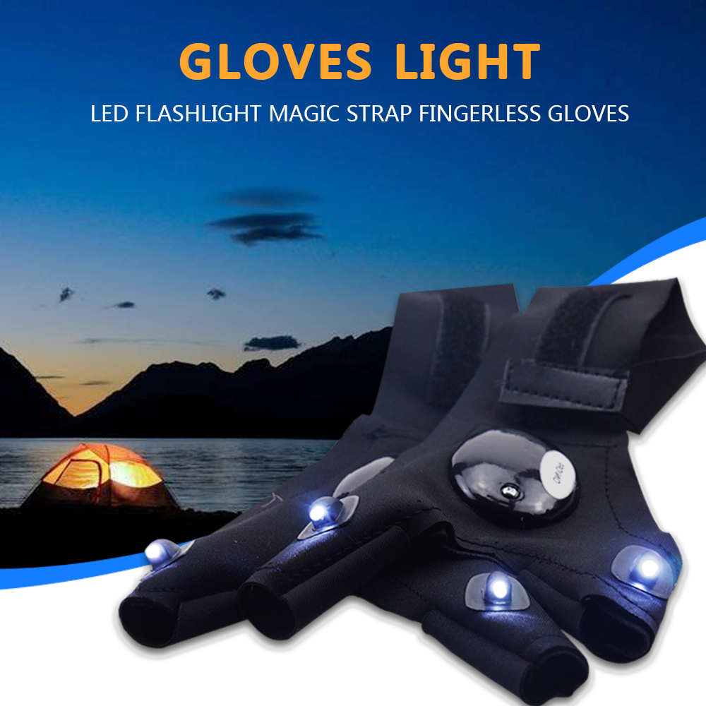 Image 4 - Repairing Finger Light Fishing Magic Strap Finger Glove LED Flashlight Torch Cover Survival Camping Hiking Rescue Tool z20-in LED Flashlights from Lights & Lighting