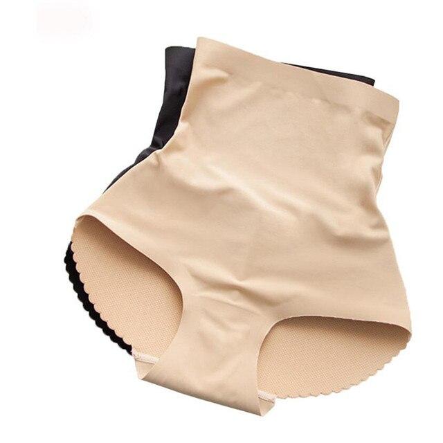 Women Underwear Lingerie High Waist Tummy Control Body Shaper Fake Ass Butt Lifter Briefs Lady Padded Butt Push Up Panties