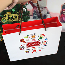 Cute Christmas Candy Bag Xmas Baking Package West Cookie Gift Bags  Decorations For Home Party Supplies