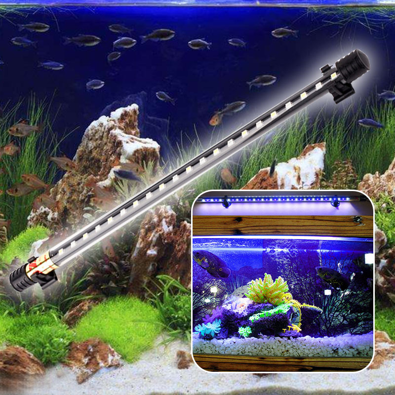 Lights & Lighting Dropshipping Led Aquarium Submersible Lamp Aquarium Fish Tank Plant Dc 12v Led Light Waterproof Ip68 Bar Lamp Led Lamps