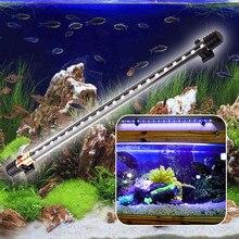 Waterproof Aquarium Fish Tank LED Light Lamp Fish Tank Pool Bar Submersible Lights white and Blue 18CM/30CM/40CM EU Plug