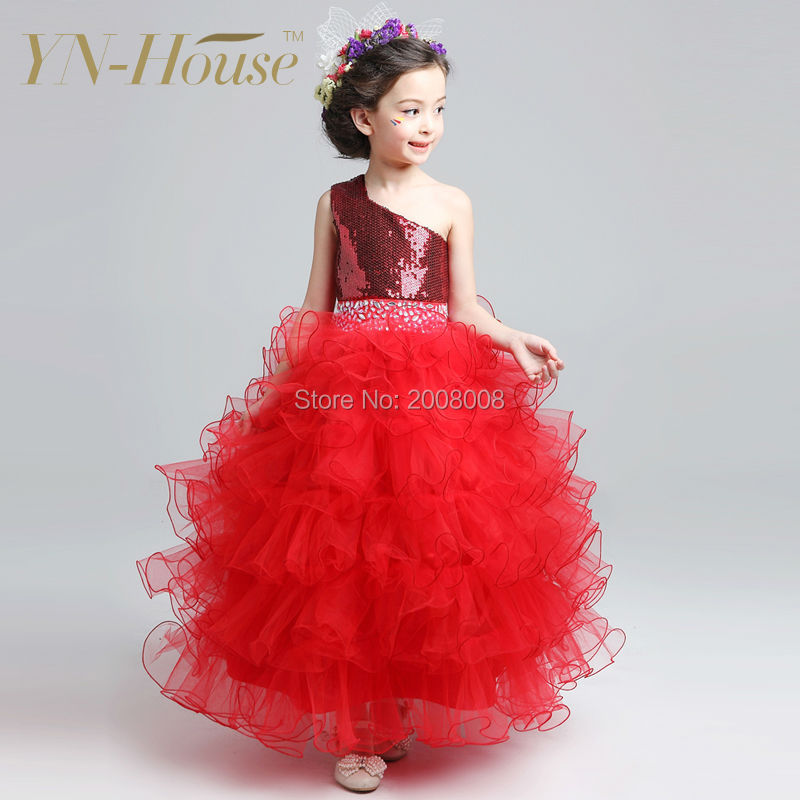 Girl Party Wear Western Dress Baby Girl Party Dress Children