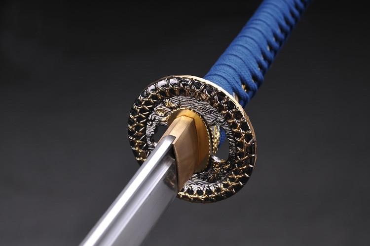 Катана самурай японський меч 60si2mn - Домашній декор - фото 5