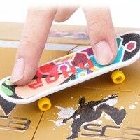 8PCS Finger Board Skate Park Kit Ramp Parts Training Props Ultimate Sport Novelty Gag Toys Mini Skateboards Bikes