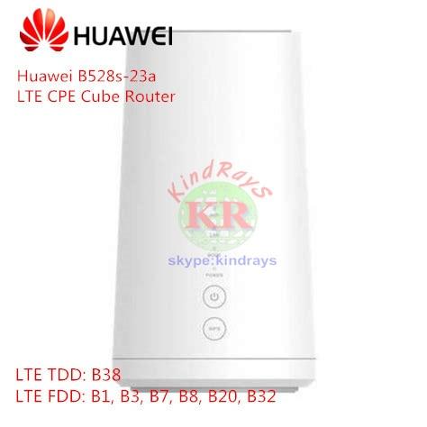 Sbloccato Huawei B528 LTE CPE Cubo Router B528s-23a 4g wifi router gatto 6 4g mobile router