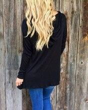 Hooded long sleeve black t-shirt