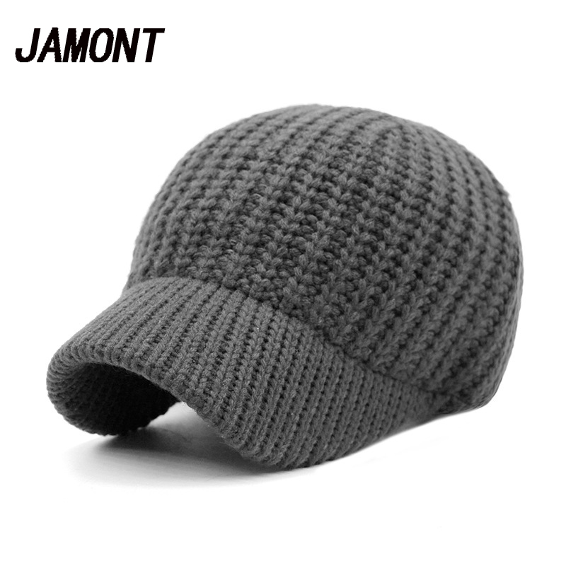 Handmade Plain Knitted Baseball Caps For Women Casual Adjustable Snapback Hat Spring Unisex Men Outdoor Windproof Warm Hats new winter beanies solid color hat unisex warm grid outdoor beanie knitted cap hats knitted gorro caps for men women page 9