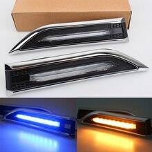 купить MZORANGE Car Front Fender Lamp Side Turn Signals LED Lights Steering Lamp For Chevrolet Cruze Sedan Hatchback 2010-2015 по цене 987.3 рублей