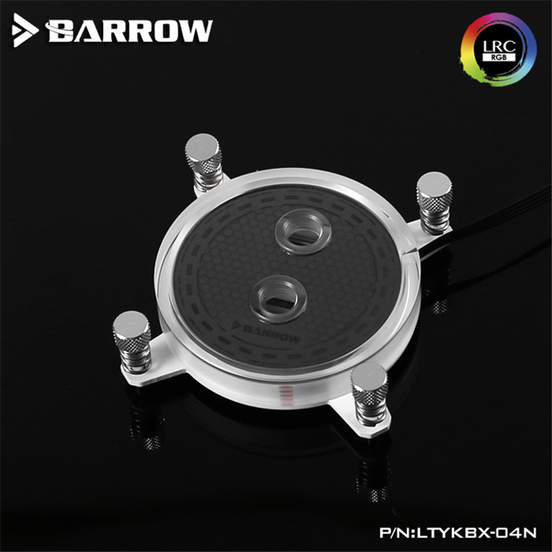 Barrow X99/X299 platform jet type microchannel CPU water cooling head Rays Edition For INTEL CPU Water Block free shipping 53 53 14mm pure copper water cooling block for intel cpu buckle computer copper cpu water block