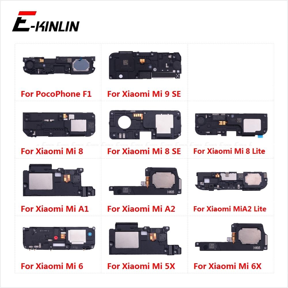 New Loudspeaker For XiaoMi PocoPhone F1 Mi A2 A1 9 8 SE Lite 6 6X 5X Loud Speaker Buzzer Ringer Flex Replacement Parts