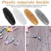 10pcs Breakaway Plastic Clasps For Silicone Teething Necklace DIY Safety Clasp For Baby Magnetic Clasps Lobster Clasp 50 pairs breakaway plastic clasps for silicone teething necklace pacifier diy safety clasp for baby bracelet chain lobster clasp