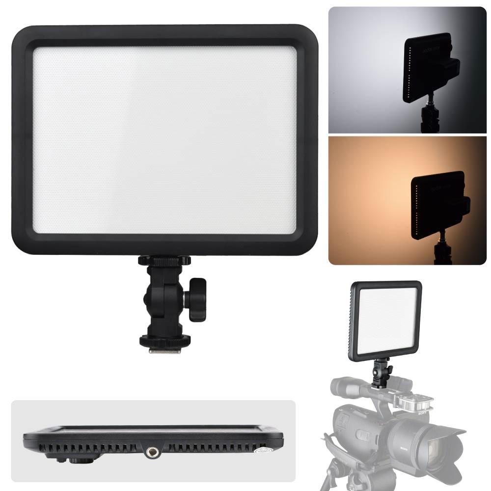 Godox LED P120C 3300 K-5600 K lampe de lumière LED vidéo modifiable pour caméscope caméra