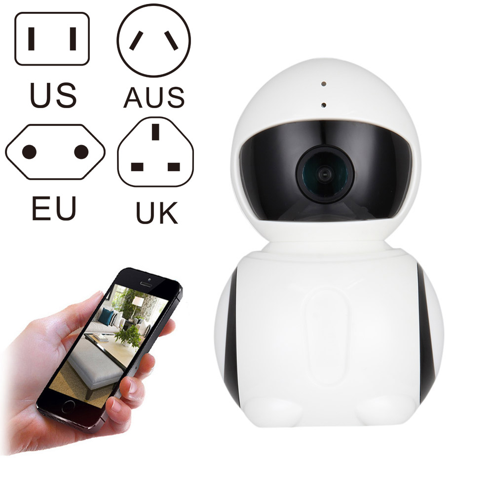 1080P WIFI IP Camera Night Vision HD 2.0M IR Robot Indoor Home Office Wi-fi Security Camera LCC77 new fashion assassins creed luminous backpack boy girl school bags for teenagers casual bag game canvas backpacks