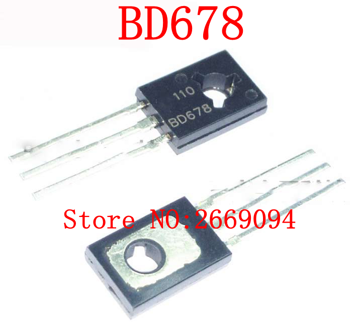 To-126 BD677 Darlington Transistor