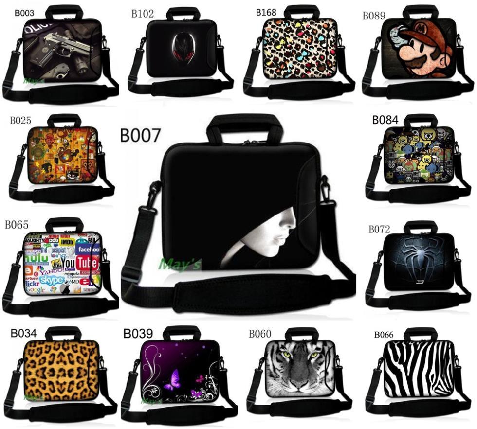 """Many Designs 17"""" Laptop Shoulder Bag Case Cover For 17.3"""