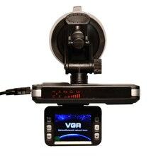 TFT 2.0″ LCD Display Night Vision Car DVR Video Recorder Auto Dash Cam + Radar Laser Speed Detector For Russian Radar Detector