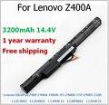 3200 мАч аккумулятор для ноутбука Lenovo IdeaPad Z400 Z400A-IFI Z400A-ITH Z400T Z500 L12L4K01 L12M4E21 L12M4K01