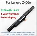 3200MAh Laptop Battery For Lenovo IdeaPad Z400 Z400A-IFI Z400A-ITH Z400T Z500 L12L4K01 L12M4E21 L12M4K01