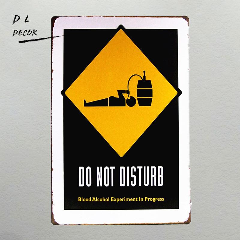 ヾ(^▽^)ノDL-DO NOT DISTURB Vintage TIN Signs iron Poster art Wall ...