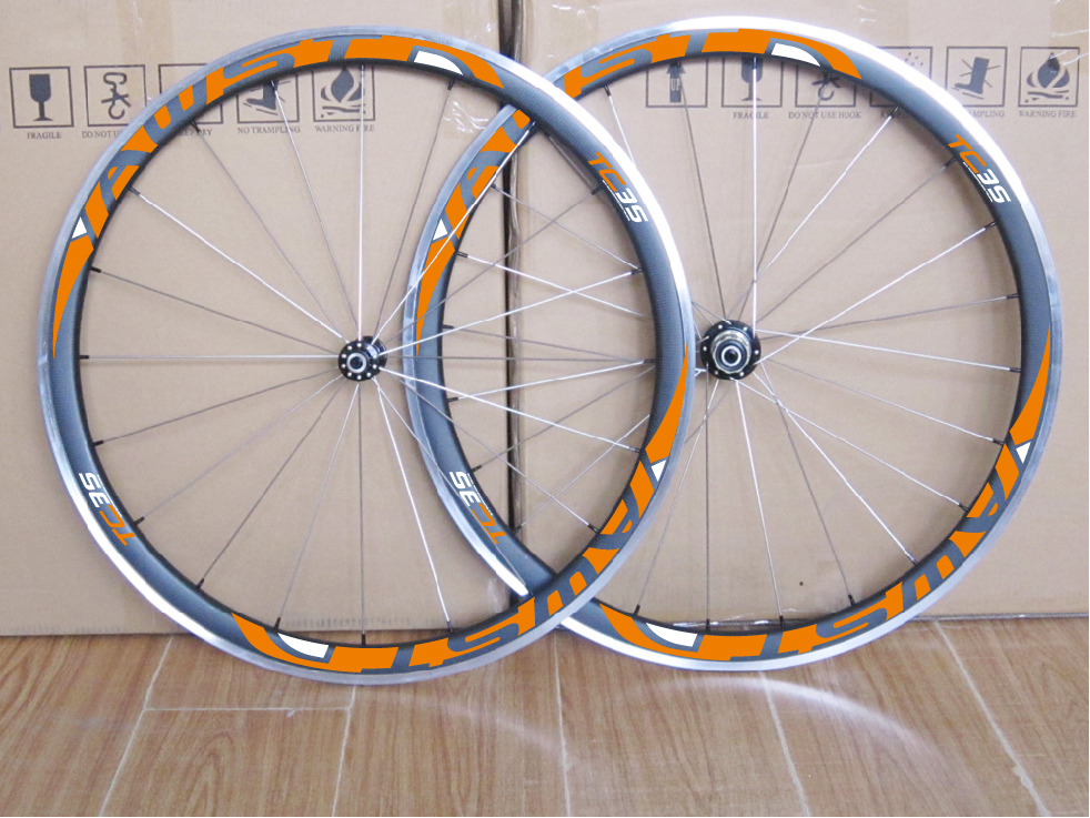 38mm road bike carbon rims/wheels glossy/matte clincher carbon fiber wheelset/rims+alloy brake surface stickers is available 700c clincher rim 88mm depth 25mm width road v brake bike carbon rims 24 holes no braking surface glossy matte diy rims