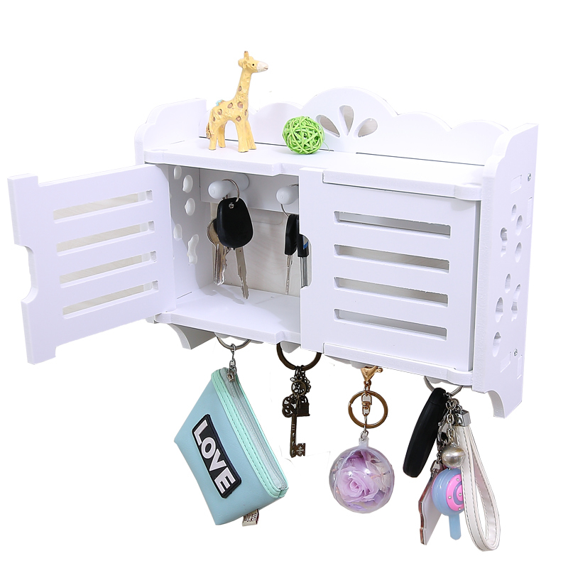 Concise Modern Wall Luggage Carrier A Hook Avoid Punch A Living Room Decoration Frame Wall Hang Key Accept Box Arrangement Box