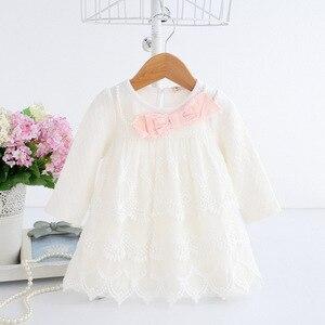 Image 3 - ฤดูใบไม้ผลิฤดูใบไม้ร่วงฝ้ายไข่มุกเด็กเสื้อผ้าเด็กแรกเกิดทารกชุดเด็กทารกชุดเด็กทารกเสื้อผ้าเด็กหญิง vestido infantil 2 สี