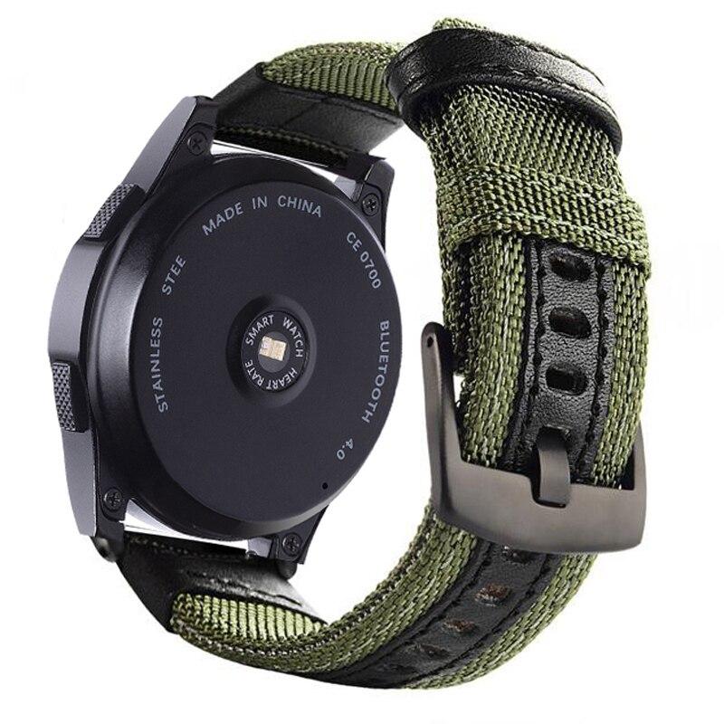 Belt Bracelet 20mm-Strap Samsung Gear Galaxy Watch Amazfit Bip Frontier 46mm-Band Classic
