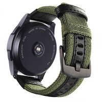 22 20 millimetri cinturino per Samsung Gear sport S2 S3 Classico Frontier galaxy watch 42 46 millimetri fascia di nylon della cinghia del braccialetto per Huami Amazfit Bip