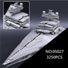 05027 Star kit Wars Emperor fighters starship Model Educational Building Blocks Bricks Compatible with 10030 toys