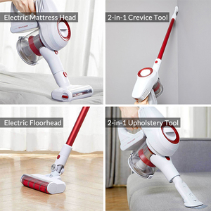 Image 4 - Xiaomi JIMMY JV51 Handheld Cordless Vacuum Cleaner For Home Portable Wireless 115AW Suction Carpet Sweep Clean Mi Dust Collector