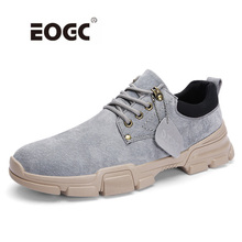 Handmade Breathable Men Shoes Top Quality Casual Fashion Sneakers Genuine Leather Outdoor Flats