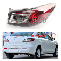 Rear Tail Light Outer for Mazda 3 BL 2009 2013 Tail Light Assembly No Bulb Red Rear Brake Lamp Rear Bumper Light Reflector