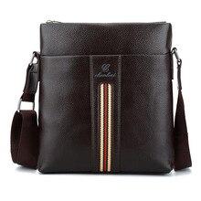 Promotion Designers Brand Men's Messenger Bags PU Leather Vintage Men Shoulder Bag Man Crossbody bag