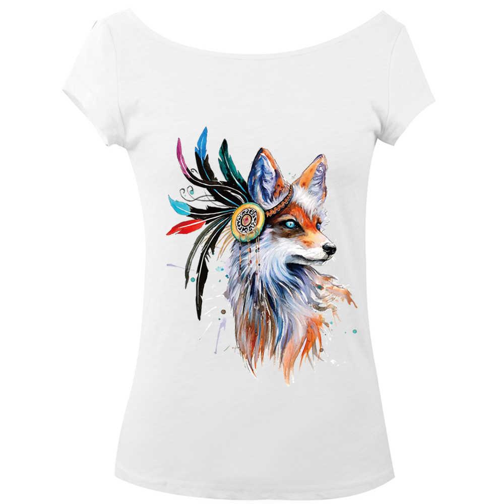 1Pc Hot Fox Patches Voor Kleding Kleurrijke Vos Patch T-shirt Jurken Trui Diy Accessoire Decoratie Een-Niveau Wasbare geappliceerd