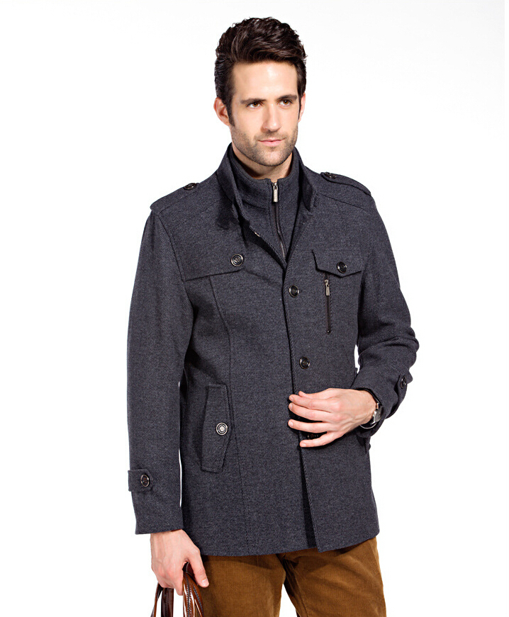 New brand jackets for men coats casual mens jacket woollen Designer clothing for men online sales