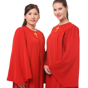 Christian Church Choir Dress Clothing Jesus Class Service Wear Wedding Hymn Holy Garments Nun Costume Christian church Sing Robe