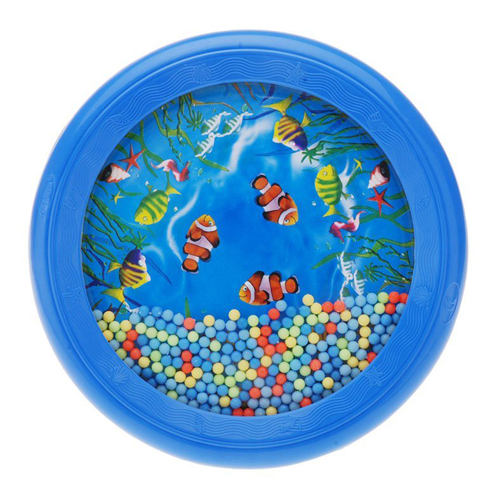 Wholesale Ocean Wave Bead Drum Gentle Sea Sound Musical Educational font b Toy b font Tool