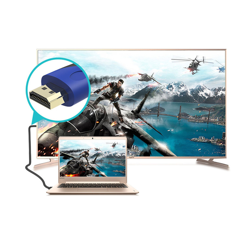 Robotsky Hot Sale 5M 10M Nylon Braid HDMI Cable Support 1080P 3D for ...