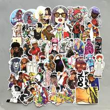 50 Stk/partij Graffiti Sticker Grappig Trend Rap Rock Kpop Stickers Scrapbooking PS4 Notebook Gitaar Pvc Waterdichte Skateboard Stickers(China)