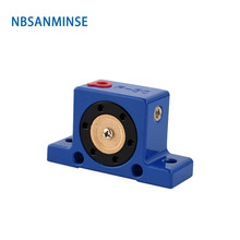 NBSANMINSE R 50 65 80 Series Rooler  Industrial Pneumatic Vibrators High Quality Air Vibrator with brass silencer muffler