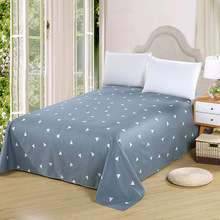 1PC Flat sheet without Pillowcase 100% Cotton 160cm*230cm/200*230cm Home Textile for Bedroom