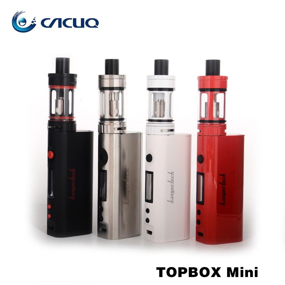 ФОТО Original Kangertech Topbox mini kit with toptank mini Upgraded Subox mini Starter kit 75W temp control electronic cigarette