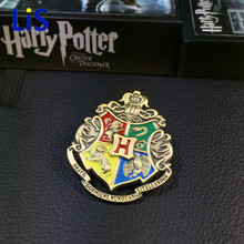 Harri Potter Colección De Insignias Gryffindor Hufflepuff Ravenclaw Slytherin