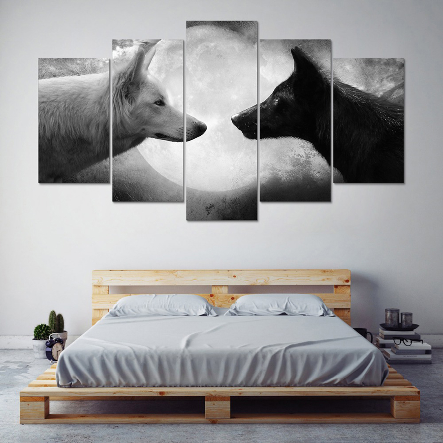 Black And White Canvas Wall Art online get cheap black and white canvas wall art -aliexpress