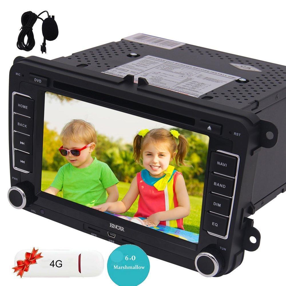 Android 6.0 GPS Autoradio 7'' Double Din Car DVD Player