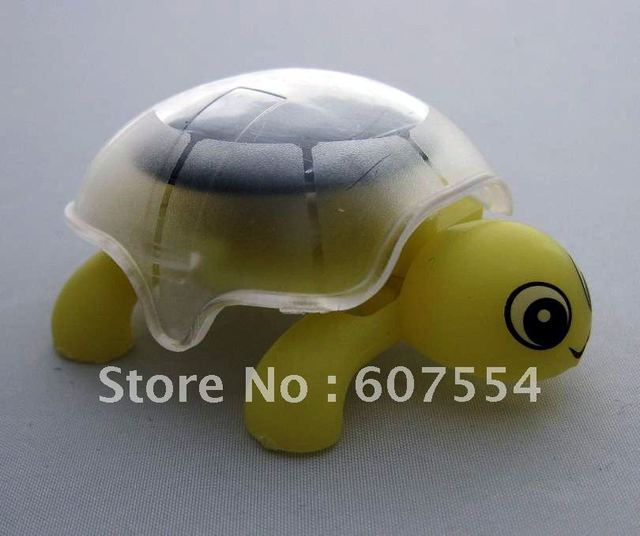 Christmas Hot Sale! Free shipping, 2pcs/lot,Solar Powered products,solar gift Toys,solar Mini Tortoise/ solar Turtle