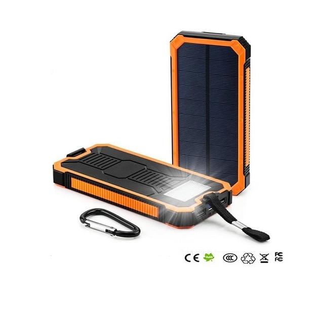 Новое поступление 15000mA полимера клеточной солнечное зарядное устройство для мобильного телефона