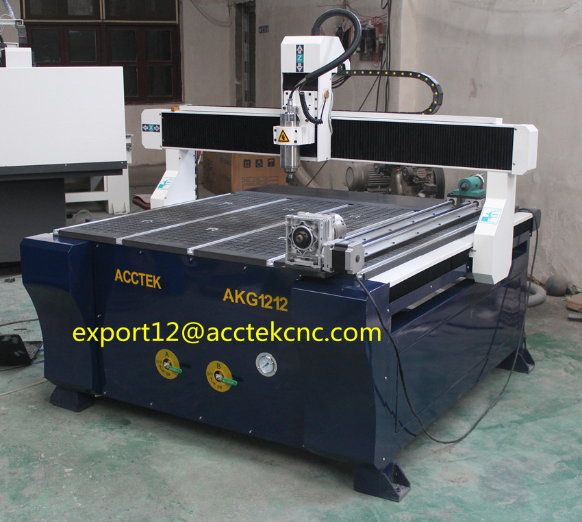 vacuum table woodworking machines rotary 4 axis cnc/wood cnc routers 1212 with Artcam software