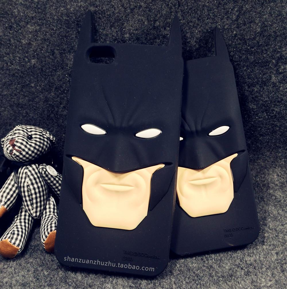 Batman Iphone 6 / Iphone 6S Plus / 5S SE Case Ripndipp 3D Animals Soft Silicon Rock Cover For Iphone 7 Plus Silica Gel